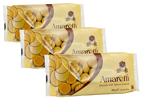 Ameretti Biscuits - 3 x 200g packs