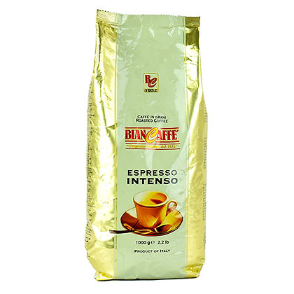 BIANCAFFE' - Coffee Beans - INTENSO - 1kg
