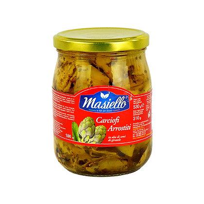 MASIELLO - Roasted Whole Artichokes - 530ml