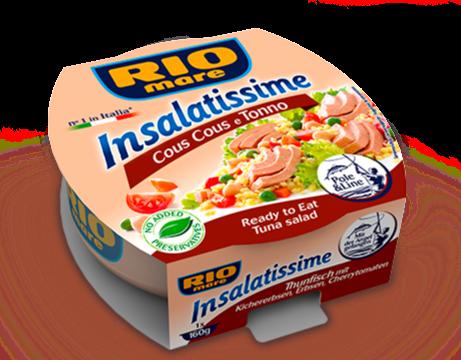RIO MARE INSALATISSIME - Tuna & Cous Cous - 160gr