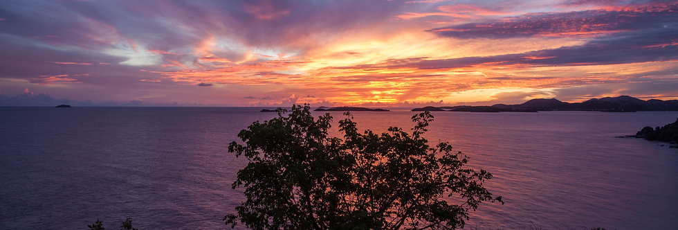 """SUNSET MY SOUL"" -USVI"