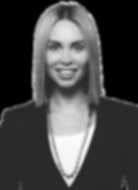 Yana Beranek Short Hair 1 BW transparent