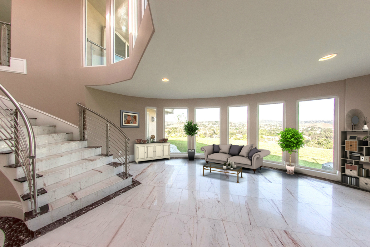 STAIRCASE LOUNGE