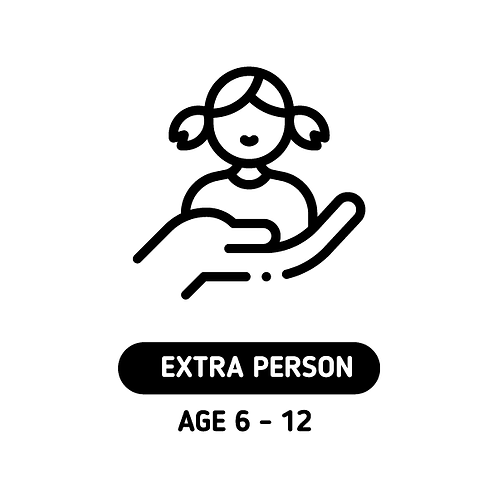 EXTRA KID (AGES 6-12)