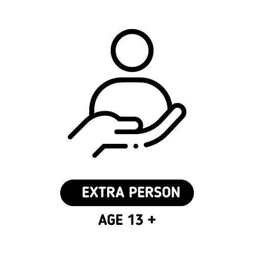 EXTRA PERSON (AGE 13+)