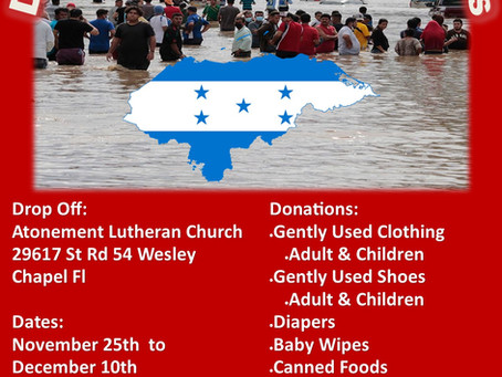 Disaster Relief: Honduras