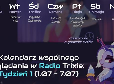 Seans filmowy w Radio Trixie!