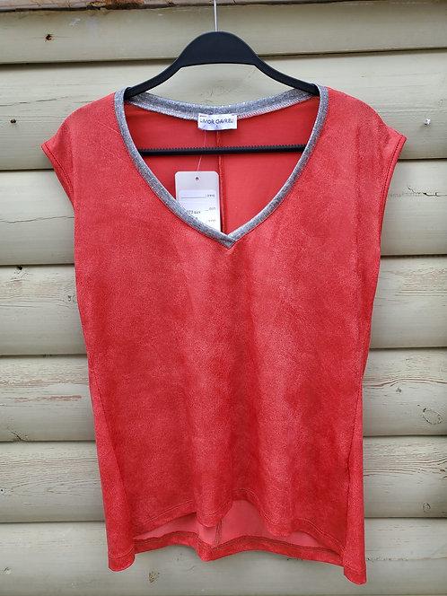 LG-11 חולצה מדהימה של לימור גבריאלי  אדומה