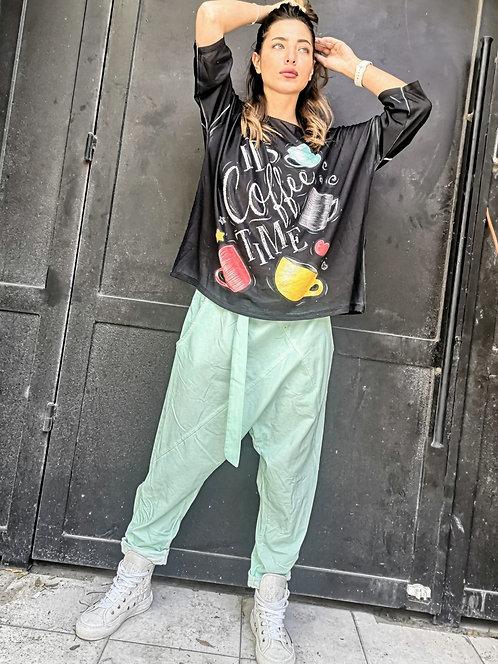 MR21127 ♥שאקי משולשים עם חגורה ואבזם -בצבעים חדשים הורסים♥