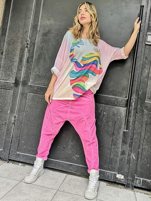 ♥ ריקוד הצבעים  - מחולצות הסריג הדקות שלנו