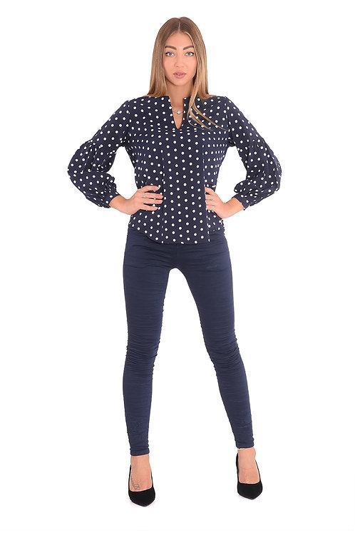 מכנסיים דגם גורדי כחול של טלי קאשי♥ TK