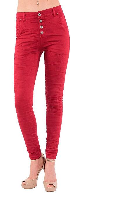 מכנסיים דגם גורדי אדום של טלי קאשי♥ TK