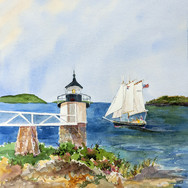 Sailing by Marshall Piont Light