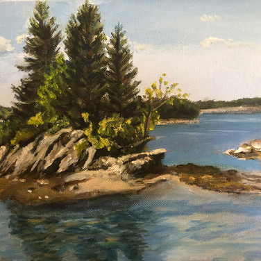 Little Island at Allen Point Harpswell