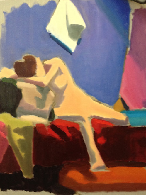 JULY Painting Class with Carolyn Gabbe