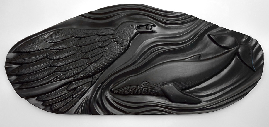 Raven and Whale