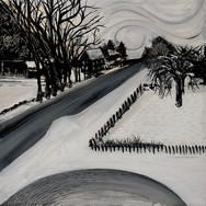 Federal Street, Wiscasset, Winter Storm