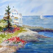 Jamie Wyeth's Monhegan Island
