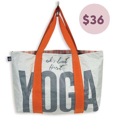 Reversible Yoga Tote