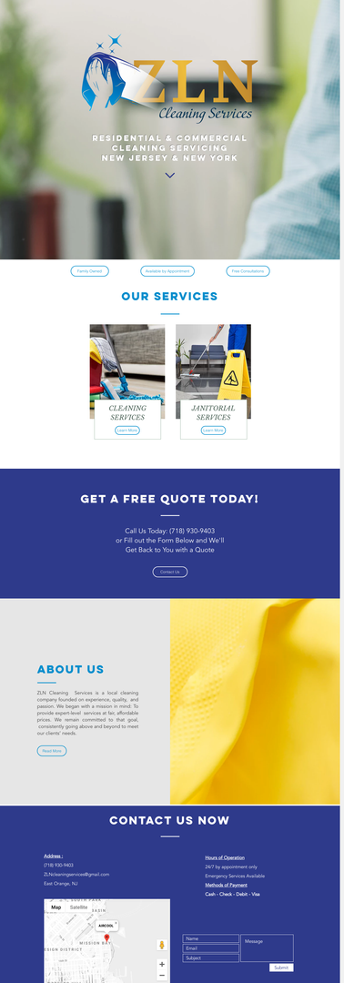 ZLN Cleaning Services