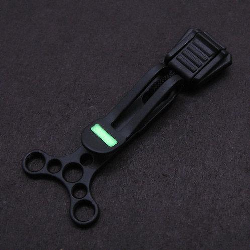 VolksDangler Black with Green Glow
