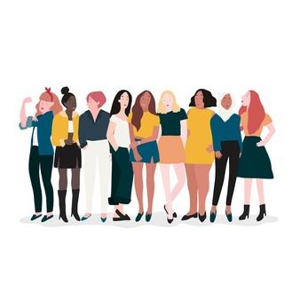 group-strong-women-vector_53876-61637
