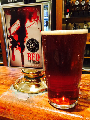 Halloween red ale