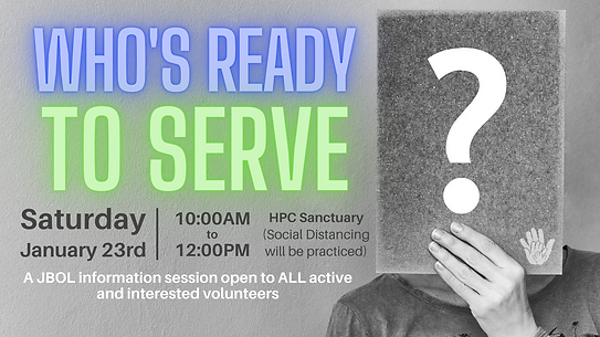 Ready To Serve Banner no RSVP info - for