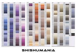 SHISHUMANIAレーヨン糸 2