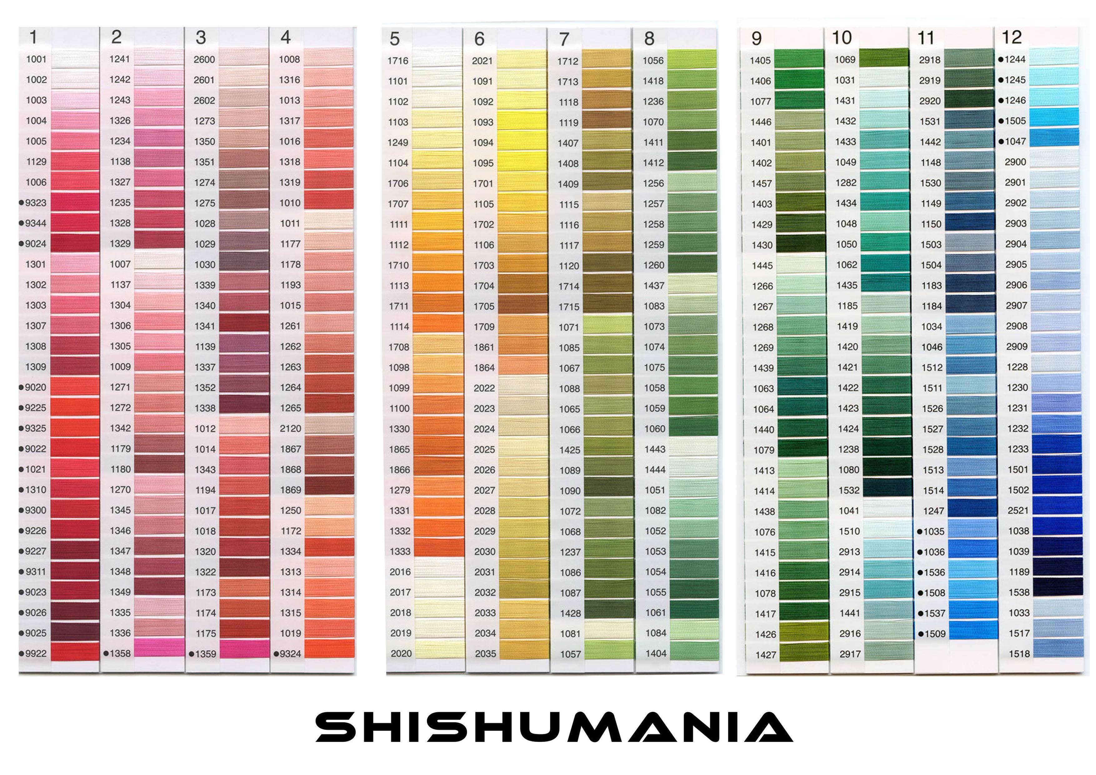 SHISHUMANIAレーヨン糸 1