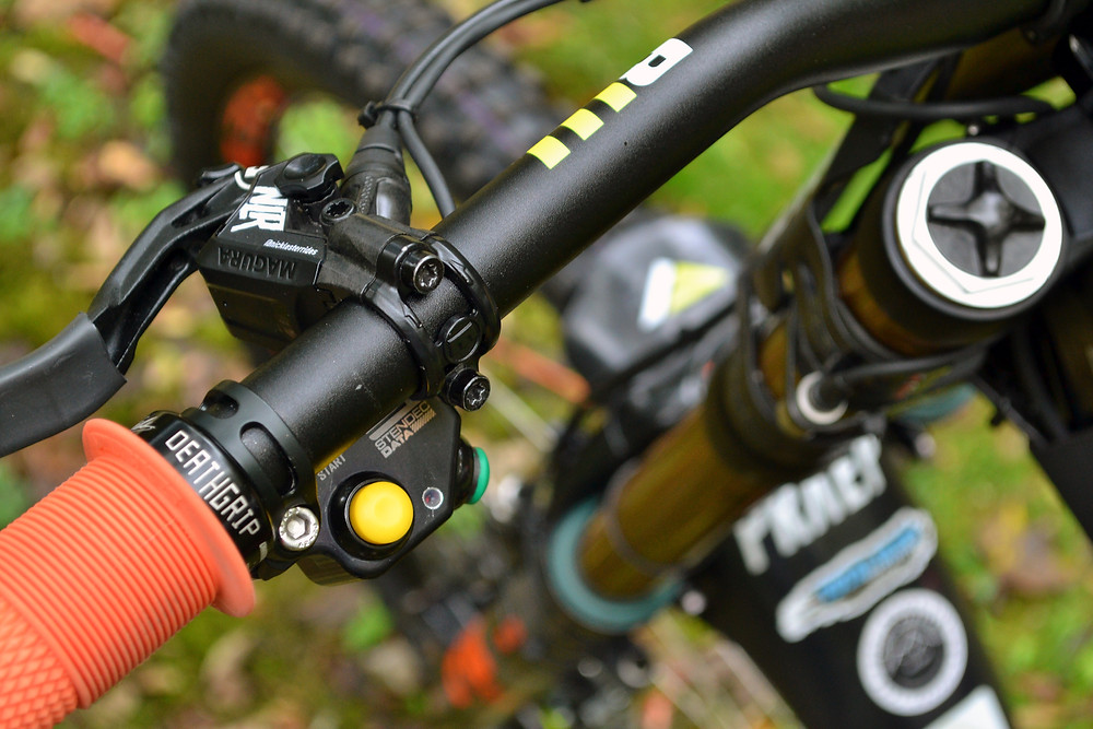 The handlebar mounted control system