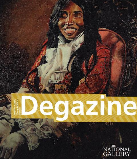 Degazine, The National Gallery, 2020, Glory Samjolly, Her Cheekiness
