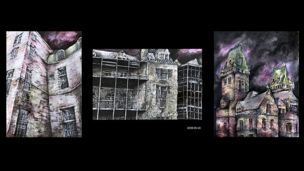 Psych Center Triptych
