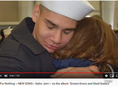 Featured on the CMA's, Sailor Jerri shares the love.