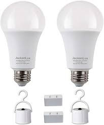 Emergency rechargeable bulbs