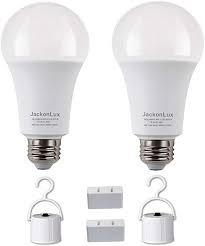 Emergency rechargeable bulbs