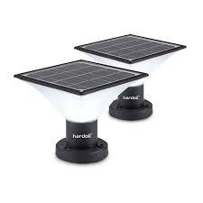 Hardroll solar lights