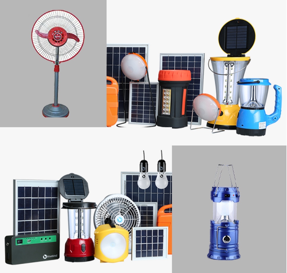 Solar home appliances