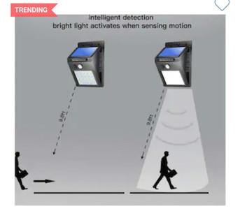 Intelligent detection light