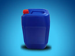 Blue jerry cans