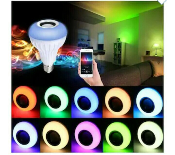 Led multi coloured bulbs