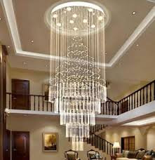 Modern Led staircase chandelier