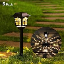 out door solar lamps and lights