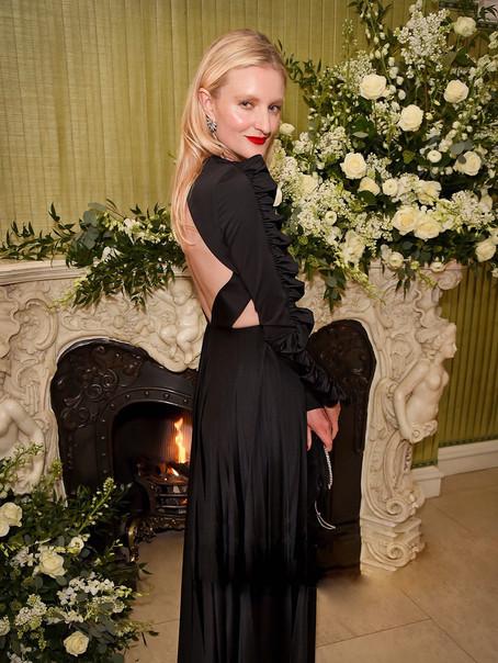 Candice Lake at Vogue BAFTA party
