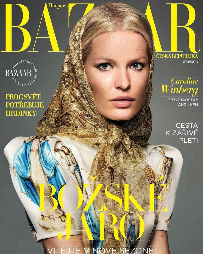 Caroline Winberg for Harper's Bazaar Czech Republic