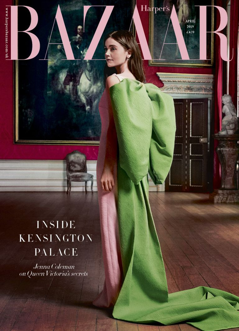 Jenna Coleman, Harpers Bazaar UK March 2019