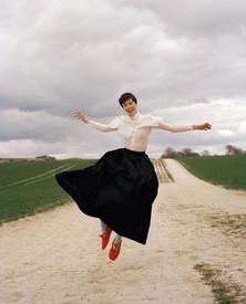 Edie Campbell, Vogue Ukraine May 2021