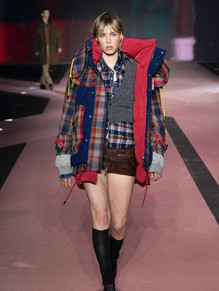 Edie Campbell Dsquared AW20