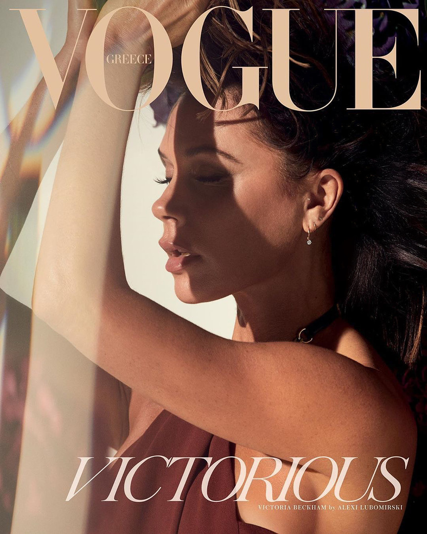 Victoria Beckham for Vogue Greece