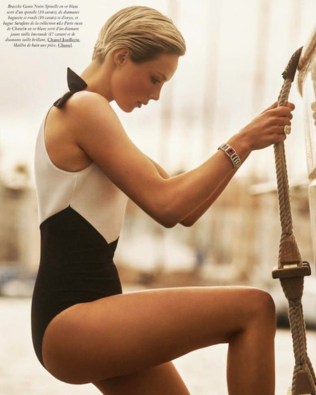 Edie Campbell for Vogue Paris 2019